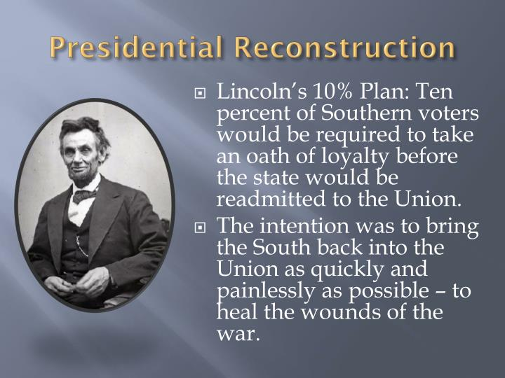 Bring Back Slavery >> PPT - Reconstruction PowerPoint Presentation - ID:1867735
