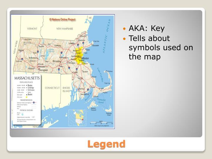 AKA: Key