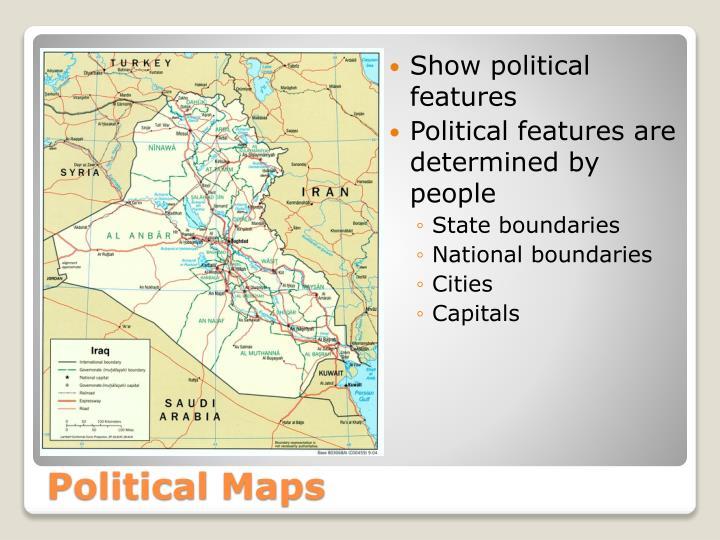 Show political features