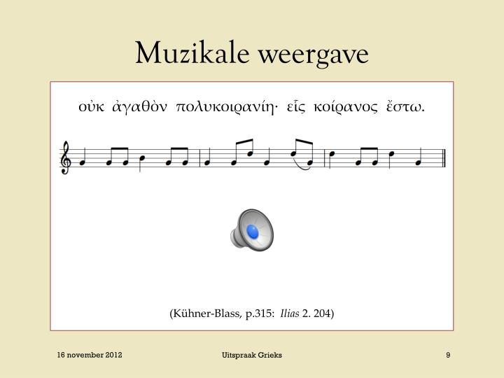 Muzikale