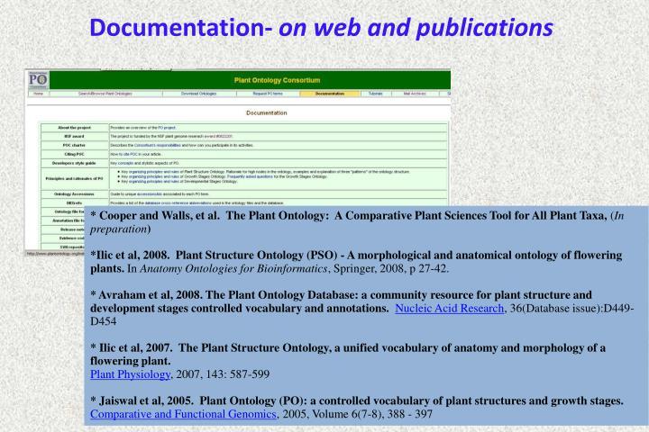 Documentation-