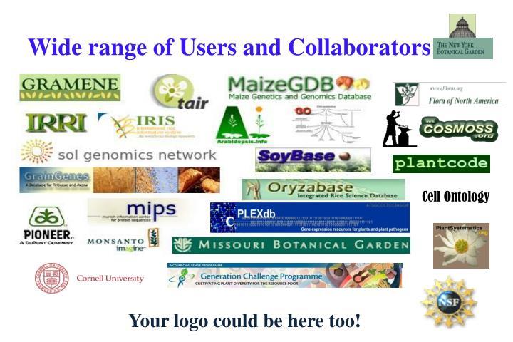 Wide range of Users