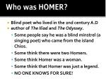 who was homer
