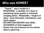 who was homer1