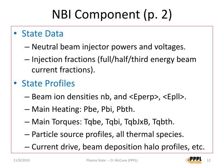 NBI Component (p. 2)