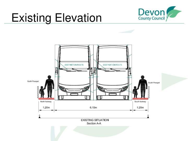 Existing Elevation
