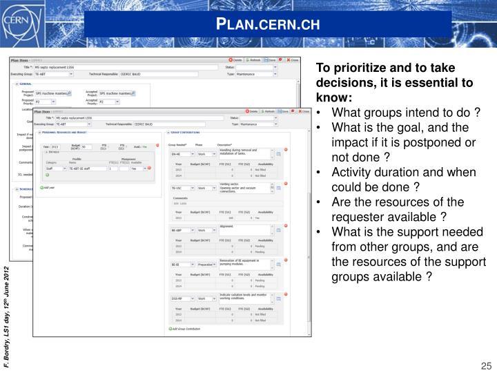 Plan.cern.ch
