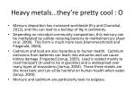 heavy metals they re pretty cool o