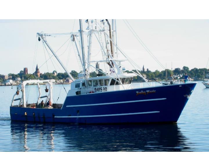 F/V Kathy Marie, a 103' steel scallop trawler