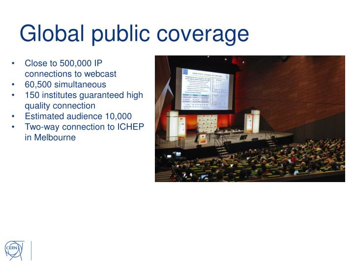 Global public coverage