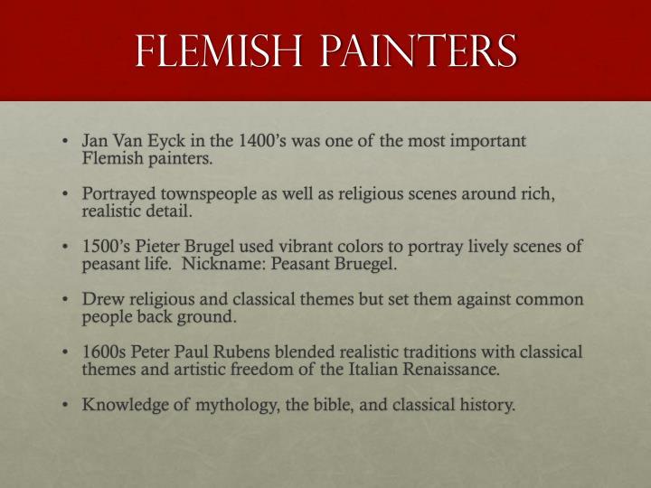 Flemish Painters