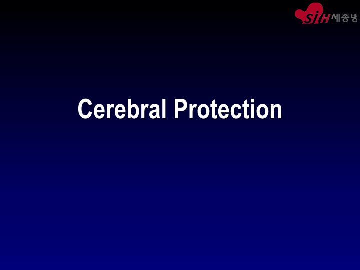 Cerebral Protection