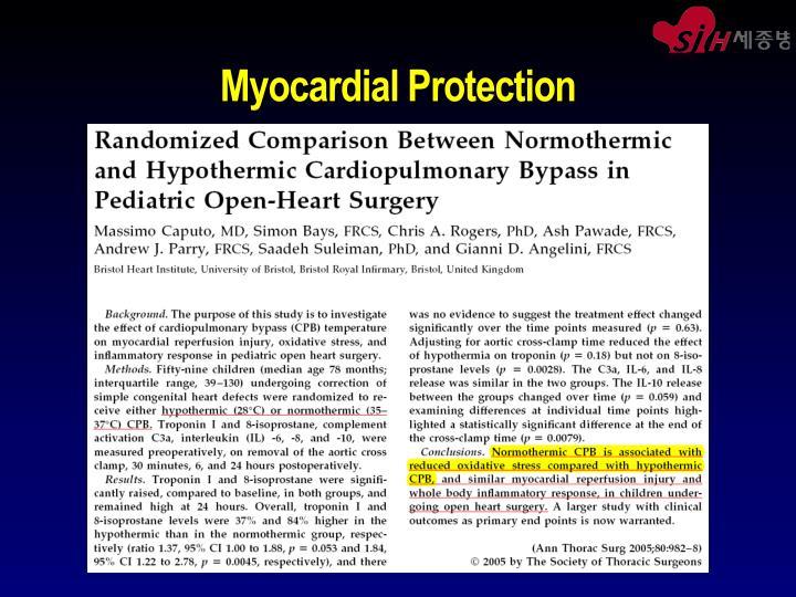 Myocardial Protection