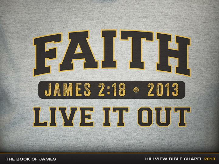 Why did james write this letter to encourage believers to practice the faith that they profess