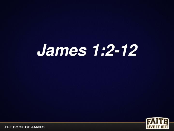 James 1:2-12