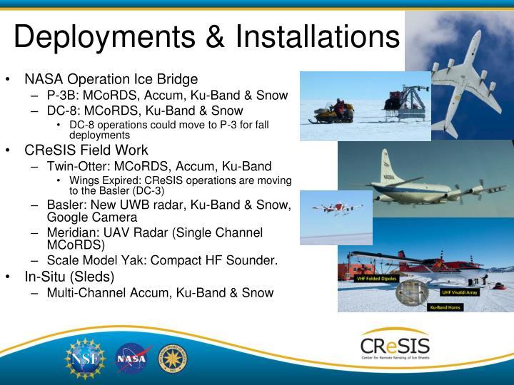 Deployments & Installations