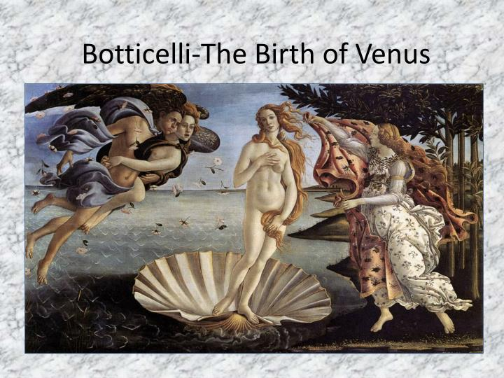 Botticelli-The Birth of Venus