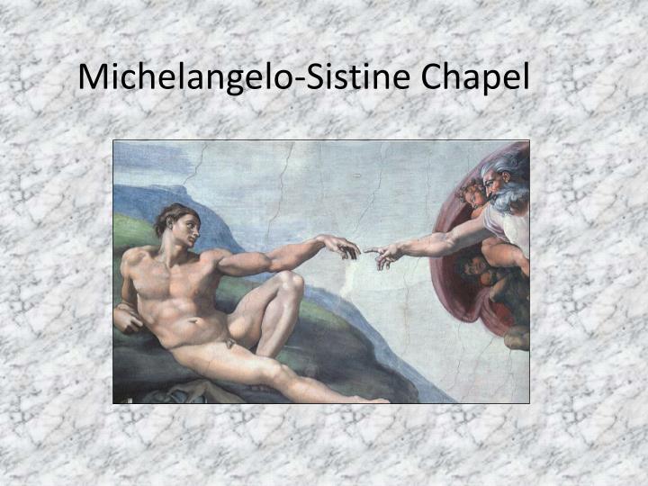Michelangelo-Sistine Chapel
