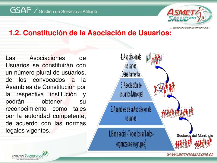 Sectores del Municipio