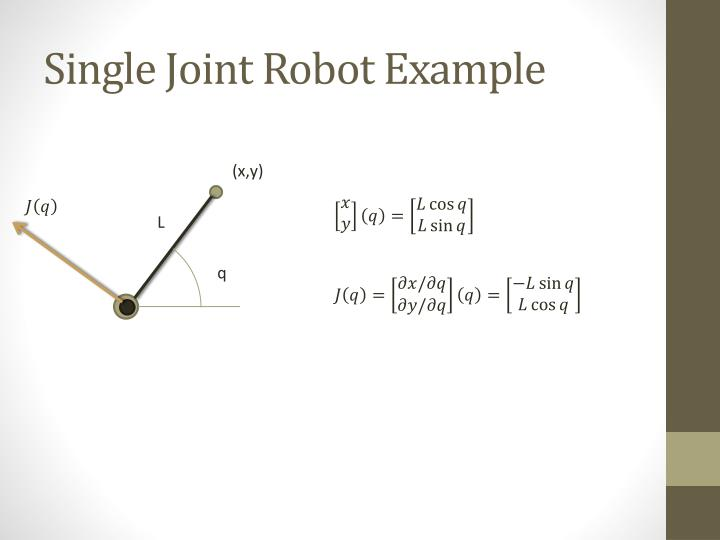 Single Joint Robot Example