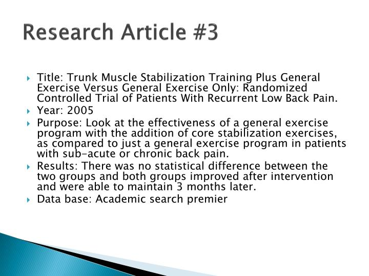 Research Article #3