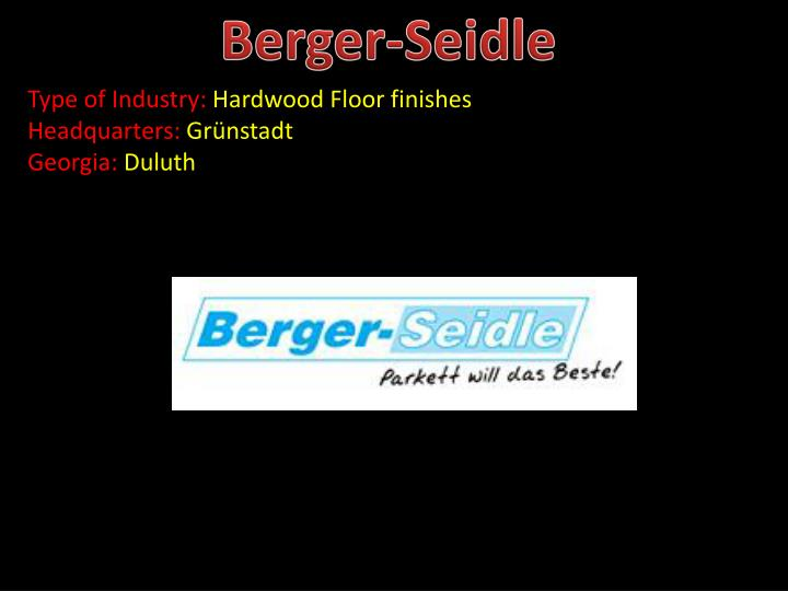 Berger-