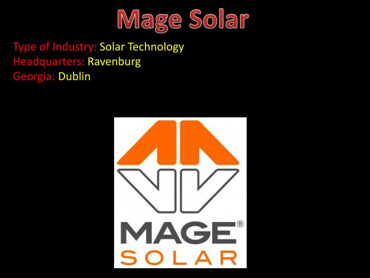 Mage Solar