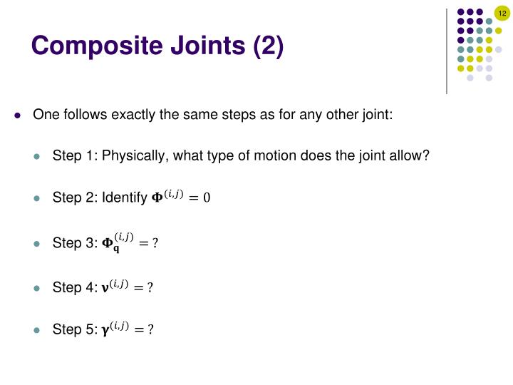 Composite Joints (2)