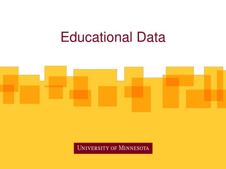 Educational Data