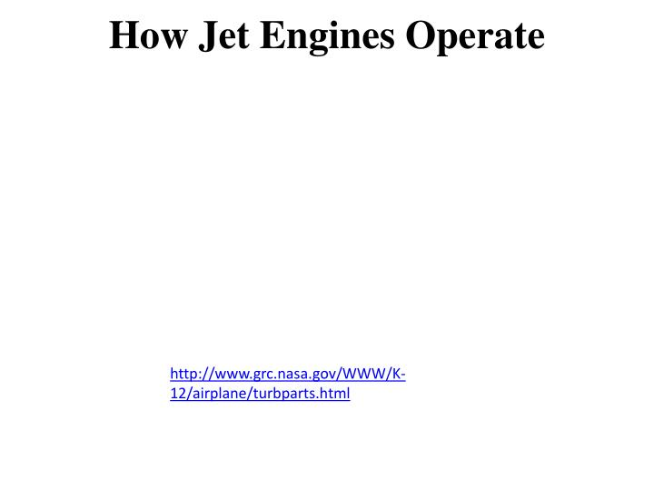 How Jet Engines Operate