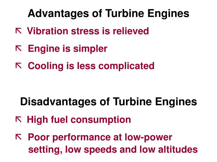 Advantages of Turbine Engines
