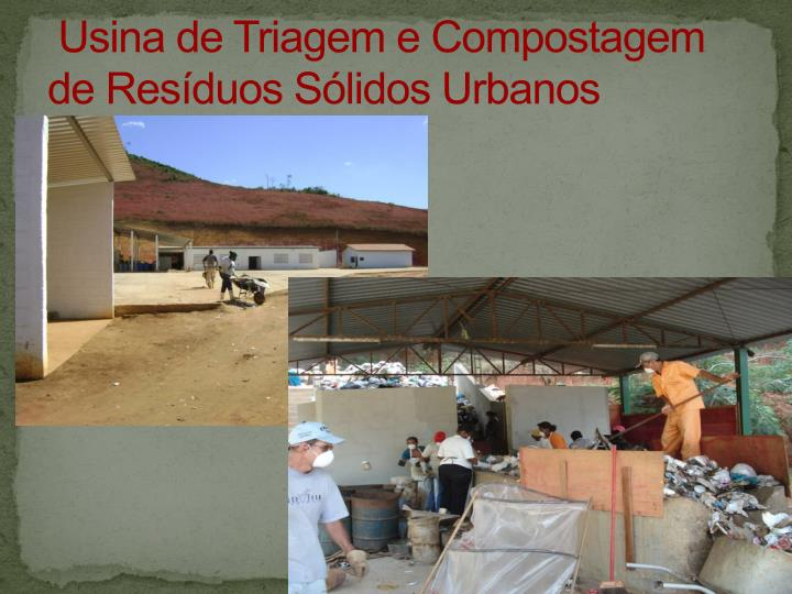 Usina de Triagem e