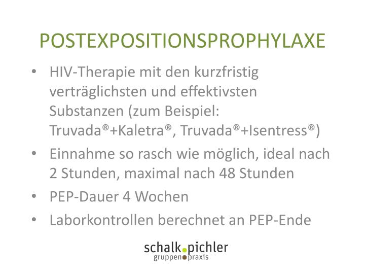 POSTEXPOSITIONSPROPHYLAXE
