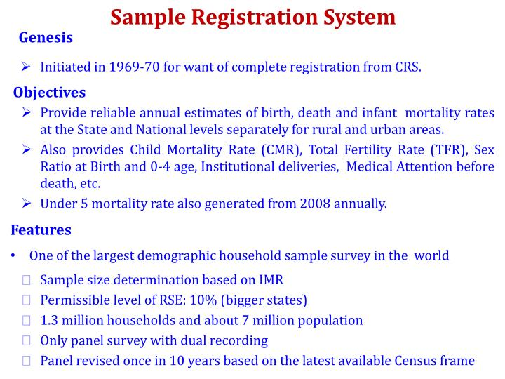 Sample Registration System