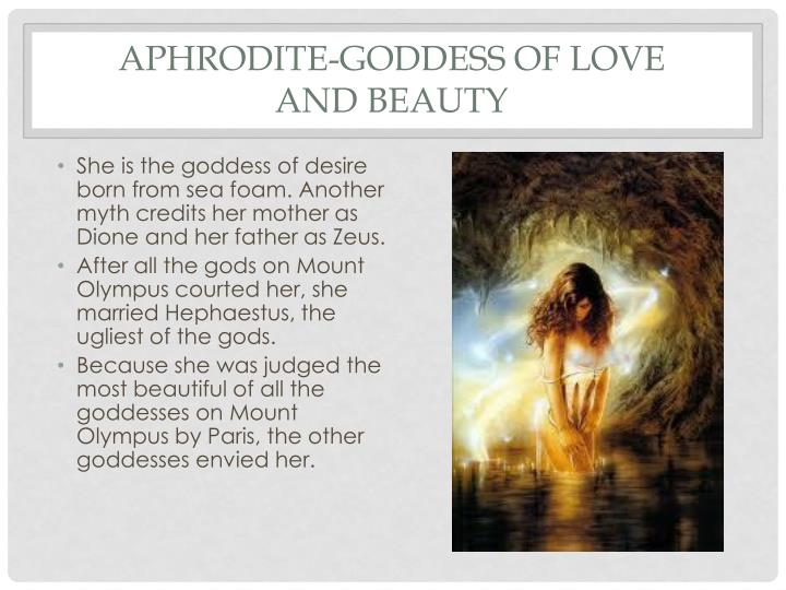 Aphrodite-Goddess of Love