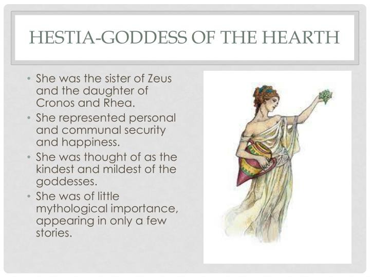 Hestia-Goddess of the Hearth