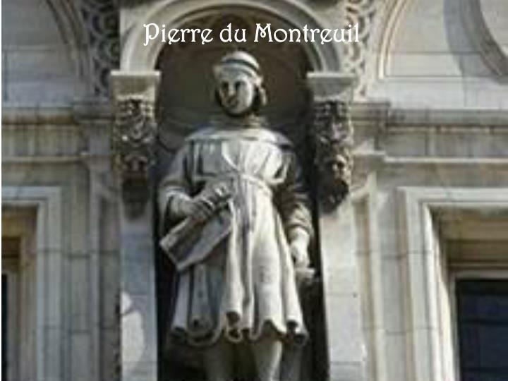 Pierre du Montreuil