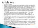 article web