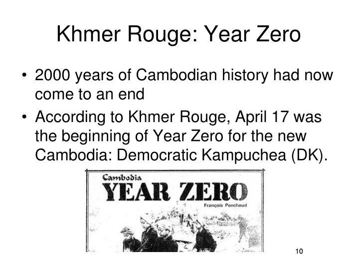 Khmer Rouge: Year Zero