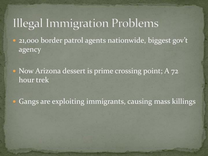 Illegal Immigration Problems