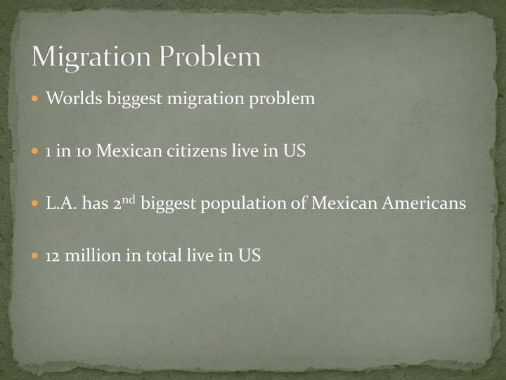 Migration Problem