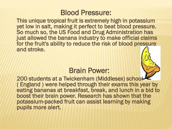 Blood Pressure: