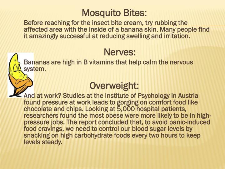 Mosquito Bites: