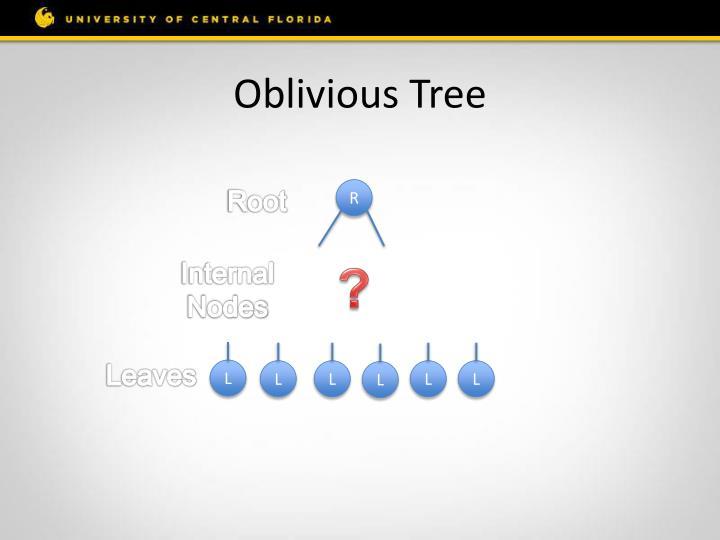 Oblivious Tree