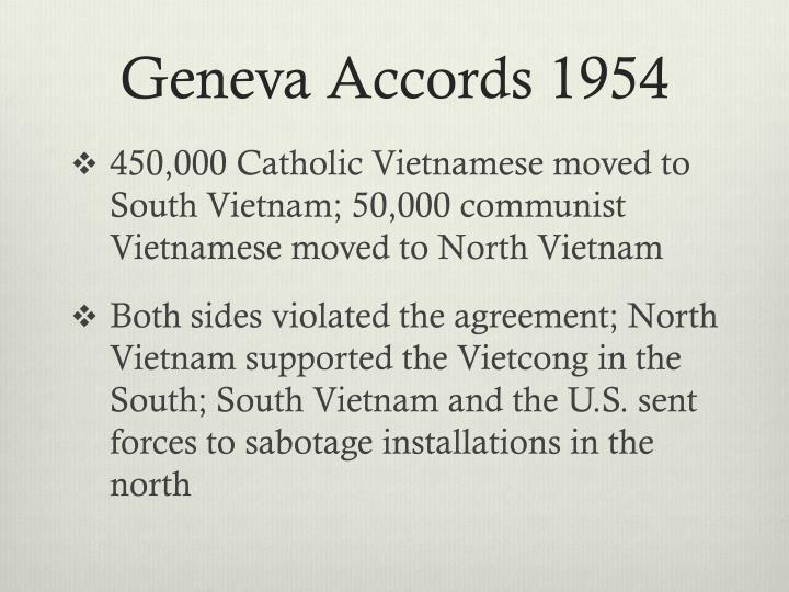 Geneva Accords 1954