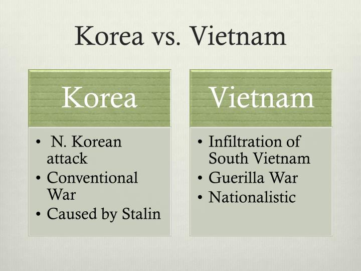 Korea vs vietnam