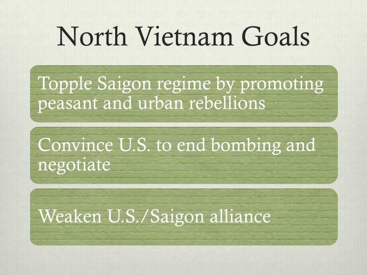 North Vietnam Goals