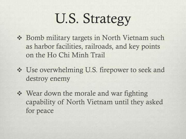 U.S. Strategy