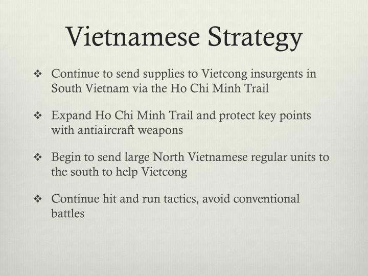 Vietnamese Strategy