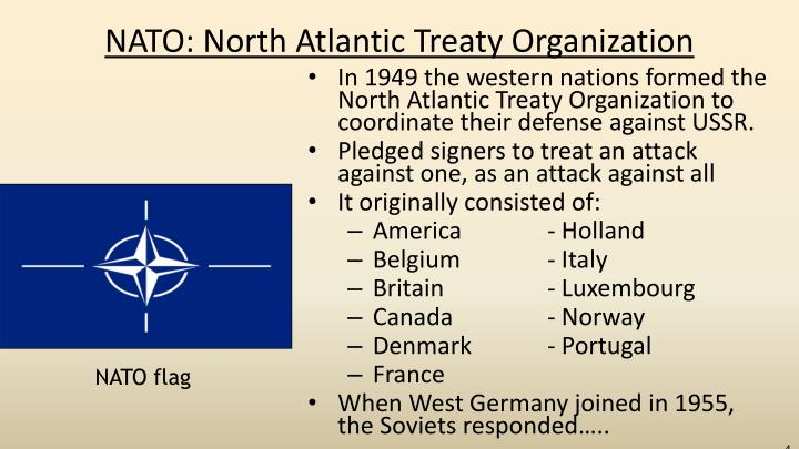 NATO: North Atlantic Treaty Organization